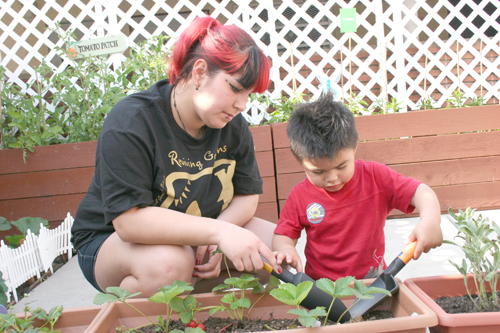 Cultivating Students Green Thumbs Eastern Group Publications Egpnews