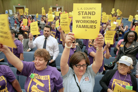SEIU Protests Proposed Award of Janitorial Contracts to Sodexo ...