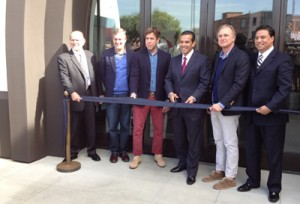 Los Angeles City Officials And Lucky Brand Jeans Executives Celebrated The Grand Opening Of Their Headquarters