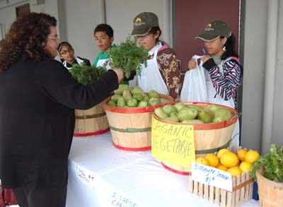 Farmers Market Place at Bell Gardens Intermediate School