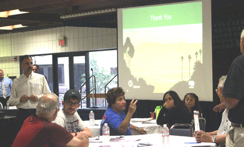 "Stakeholders attended Tuesday night's ""All Communities Convening"" presented by Metro in Monterey Park. (EGP photo by Nancy Martinez)"