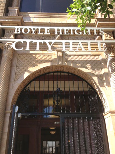 The new Boyle Heights City Hall is located at 2130 E. 1st Street.(Office of Councilmember José Huizar)
