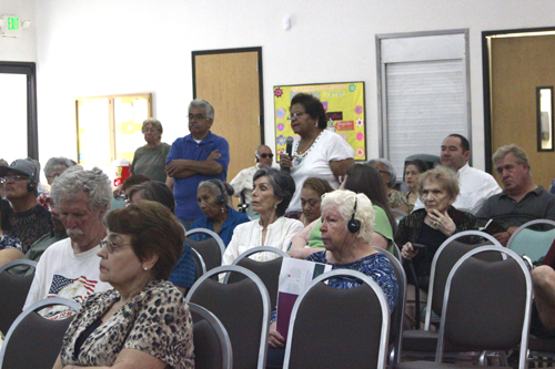 Over 100 seniors attended an Affordable Care Act Seminar at the Pico Rivera Senior Center last week to learn how the law will affect them. (EGP photo by Nancy Martinez)