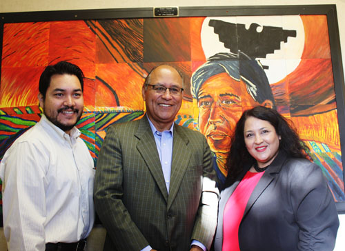 Cesar Chavez Honored With Mural At Bell Gardens School