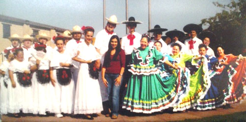 Many of the developmentally disabled adults, who dance under Martha Tiscareño's instruction (center), are of Hispanic descent. (Courtesy of EL ARCA)