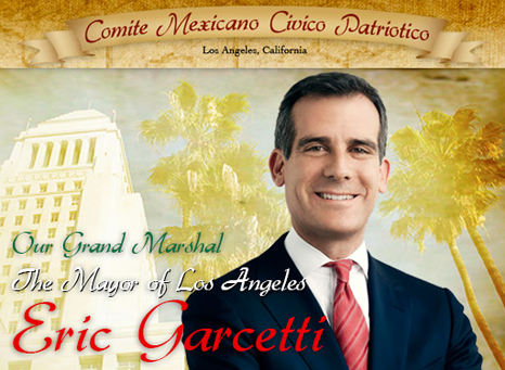 Garcetti Grand Marshal 2013