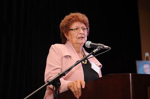 Eastern Group Publications/ EGPNews Publisher and CEO Dolores Sanchez, pictured, was honored by the National Association of Hispanic Publications as Latina Publisher of the Year. (EGP Archive)