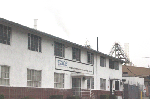 Exide Technologies is located at 2700 S. Indiana St. in Vernon. (EGP Archive)