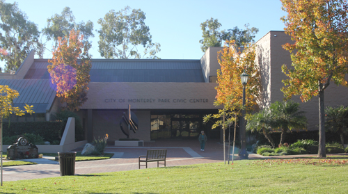 Monterey Park City Hall is located at 320 W. Newmark Ave.(EGP photo by Nancy Martinez)