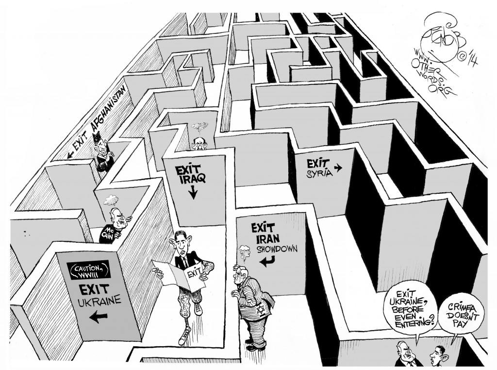 obama-no-exit-military-strategy-cartoon