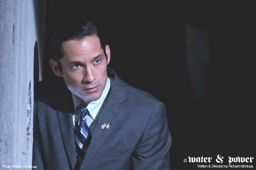 Enrique Mauricio stars as Water, in the film WATER & POWER. (Photo by  Rafael Cardenas)
