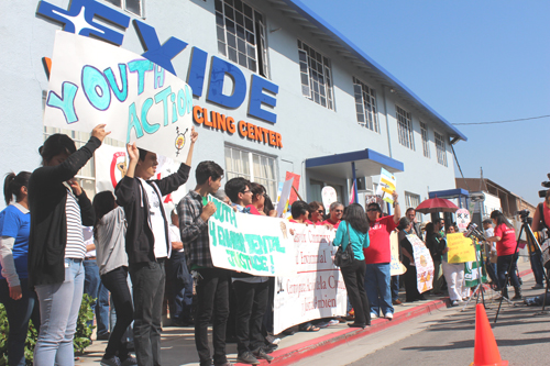 Despite being closed, high levels of lead continued to be emitted from Exide, according to air quality officials.(EGP photo by Fred Zermeno)