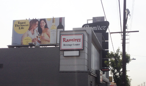 "Ramirez Beverage Center in Boyle Heights has many residents complaining; they say alcohol is the cause for crimes and they don't want the ""full liquor store"" in their neighborhood. (EGP photo by Jacqueline García)"
