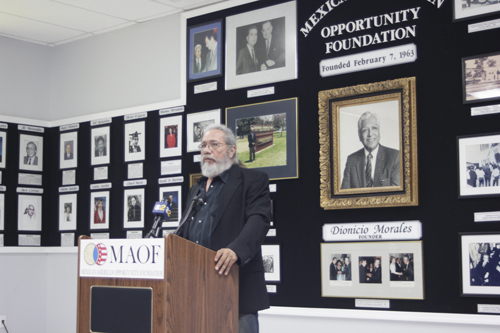 Activist, Actor Olmos Inducted  Into MAOF Hall of Fame