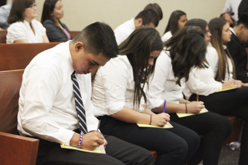 Bell Gardens Students Lay Down The Law Eastern Group Publications Egpnews