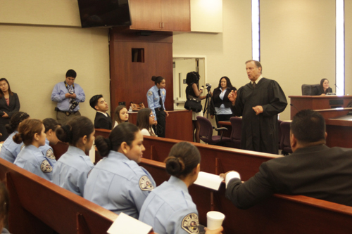 Bell Gardens Students Lay Down the Law