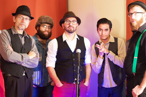 Alternative Latino Rock band Cunao, pictured, will perform on Sunday, June 7 at Sycamore Grove Park. (Lummis Day Community Foundation)