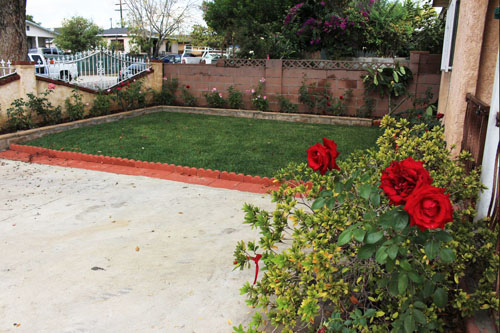 Soil removal and remediation was completed at 67 homes near the Exide Technologies plant in Vernon.  (DTSC)