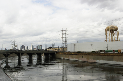 State bill would add Lower L.A. River to revitalization study. (Photo by Nancy Martinez)