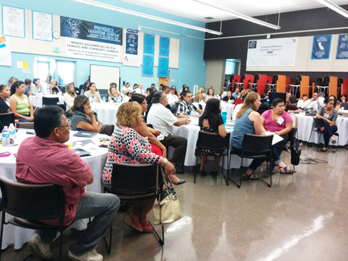 "Local groups meet to discuss ways to open more ""community schools"" in eastside neighborhoods."