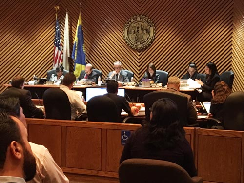 In the coming months, the Vernon City council will be tasked with finding a new city administrator, two department heads and whether they should extend the contract of their Independent Reform Monitor.  (EGP photo by Nancy Martinez)