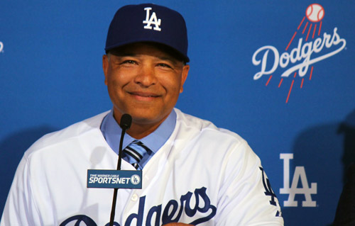 "New Dodger general manager, Dave Roberts, calls appointment his ""dream job."" (Photo by Fred Zermeno)"