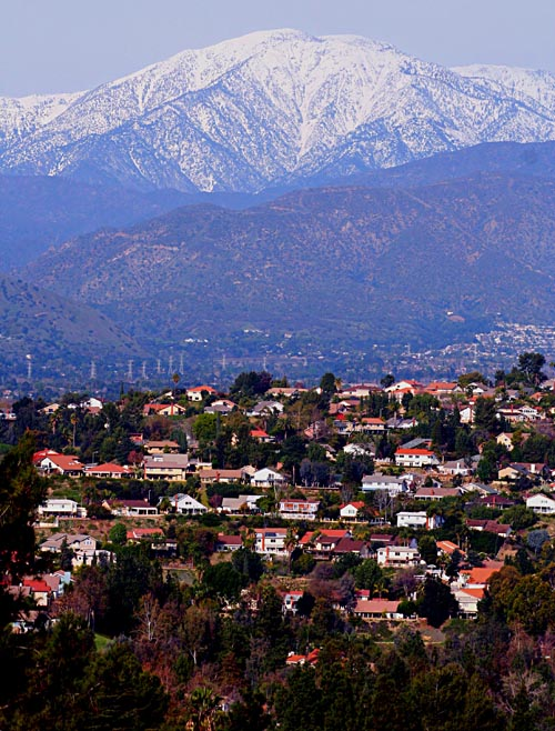 El Niño is expected to bring heavy levels of snow to Southern California Mountains (EGP Photo by Fred Zermeno)