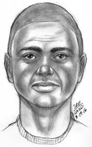 L.A. County Sheriff composite drawing of suspect in attempted kidnapping Saturday at Salazar Park in unincorporated East L.A.