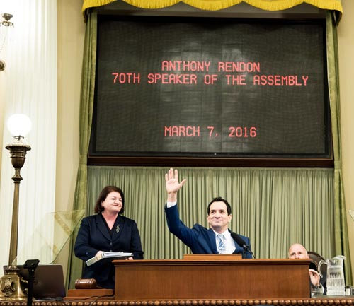 Anthony Rendon will serve as the 70th Speaker of the Assembly.   (Courtesy of the Assembly Democratic Caucus)