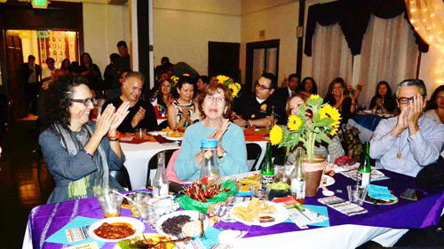A Mexican-themed dinner to raise funds for students from Academia Avance Charter School was held April 7 in Highland Park. (Photo courtesy of Gloria Alamillo)