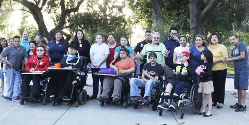 Participants of the Special Time for Adaptive Recreation (STAR) program meet every Friday at 4:30p.m. at the Bell Gardens Veterans Park Senior Center. (EGP photo by Nancy Martinez)