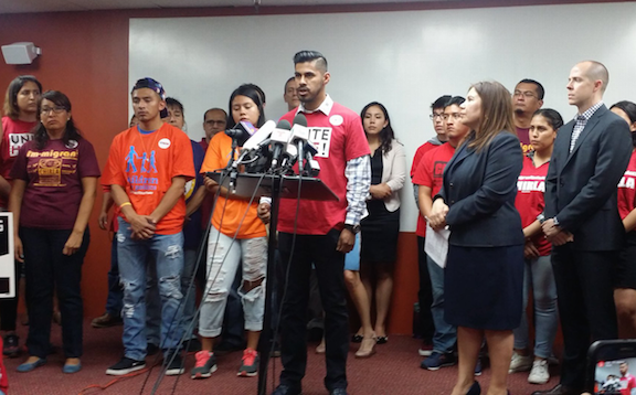 Immigrants and activists said to be disappointed for SCOTUS decision on DACA and DAPA. (CHIRLA)