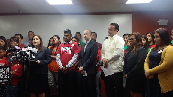 Pro-immigrant activists hope that Latino Vote can change the future of immigration reform. (CHIRLA)