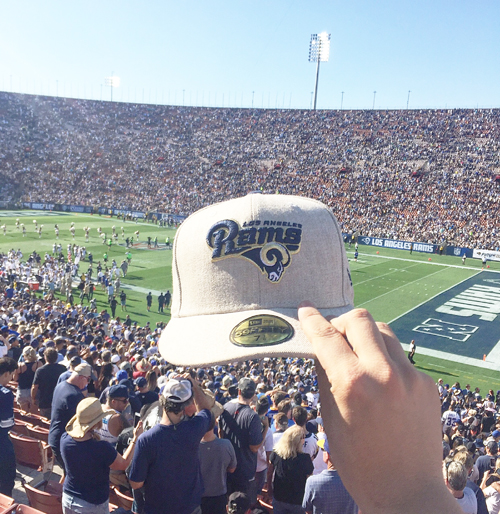 The Los Angeles Rams beat the Dallas Cowboys at the L.A. Memorial Coliseum during a preseason game Saturday. (Photo by Fred Zermeno)