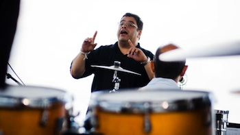 Afro-Latin Jazz master Arturo O' Farrill comes to Highland Park this weekend.