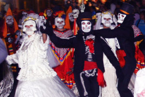 dia de Los Muertos procession at Olvera Street. (EGP archive photo)
