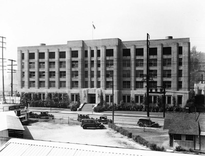 Lincoln Heights Jail in earlier times. (Photo courtesy Los Angeles Public Library)
