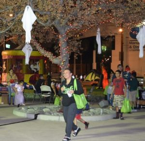 Residents of Vernon enjoy a city-hosted Halloween carnival at City Hall Monday. (Photo courtesy City of Vernon)