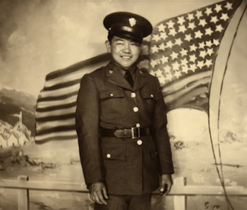 A monument to recognize World War II Medal of Honor recipient Sadao S. Munemori will be placed on the campus of his alma mater, Lincoln High School in the Los Angeles neighborhood of Lincoln Heights. (Smithsonian archive photo)