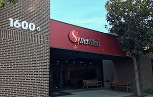 SynerMed headquarters in Monterey Park, Calif. The management firm oversaw care for 1.2 million patients. (Chad Terhune/California Healthline)
