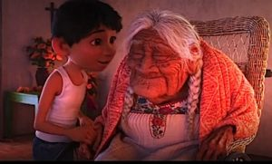 "Scene from Disney-Pixar's animated hit, ""Coco."""