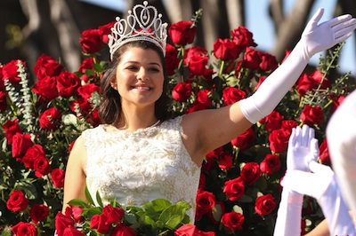 2018 Rose Parade Queen, La Salle High School Senior. Maria Marez. (EGP Photo by Fred Zermeno)