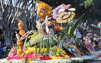 City of Alhambra 2018 Rose Parade Entry-Storytime. Photo by FZermeno